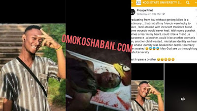Blood Flows In Kogi State University As Cultists Kill 13 Students