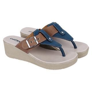 Sandal Wedges Wanita Catenzo RN 993