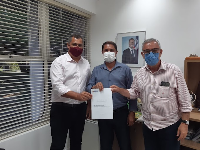PARCERIA | Waldenor e prefeito Beto buscam mais benefícios para Malhada de Pedras