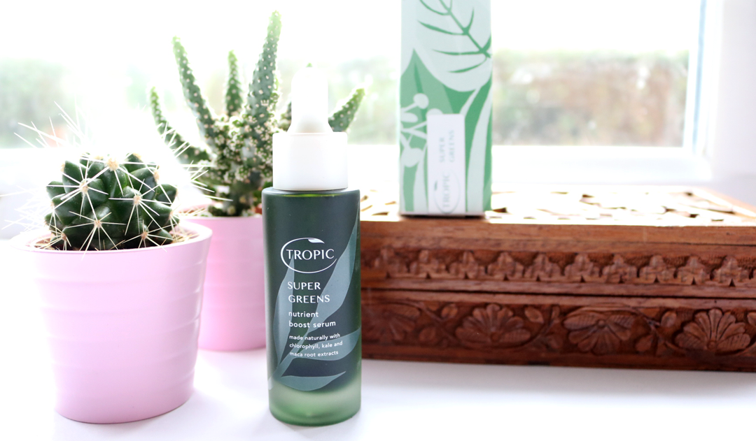 Tropic Super Greens Nutrient Boost Serum review