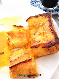 Hyeon's Travel Journal; San Da Gen Kopitiam; Salted Egg Lava French Toast