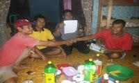 Ban Dump Truk Tertukar, Bhabinkamtibmas Polsek Belitang Hulu Bantu selesaikan permasalahan