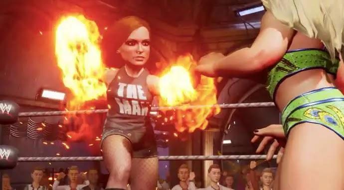 الإعلان رسميا عن لعبة WWE 2K Battlegrounds (فيديو)