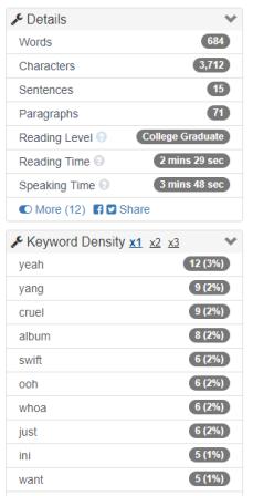 Cara Mengetahui Jumlah Kata Dalam Word : mengetahui, jumlah, dalam, Menghitung, Jumlah, Dalam, Bacaan, WordCounter, Fujiharu.com