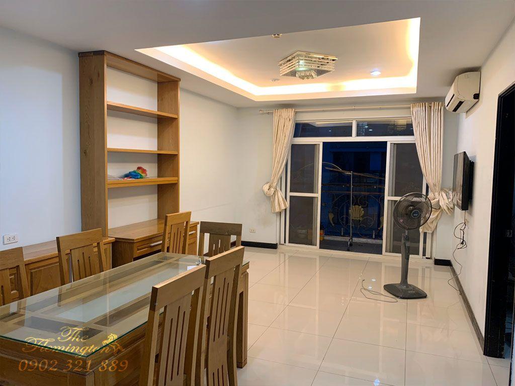 Flemington cho thuê căn hộ 2PN + 1 phòng làm việc tầng 18 - hình 3
