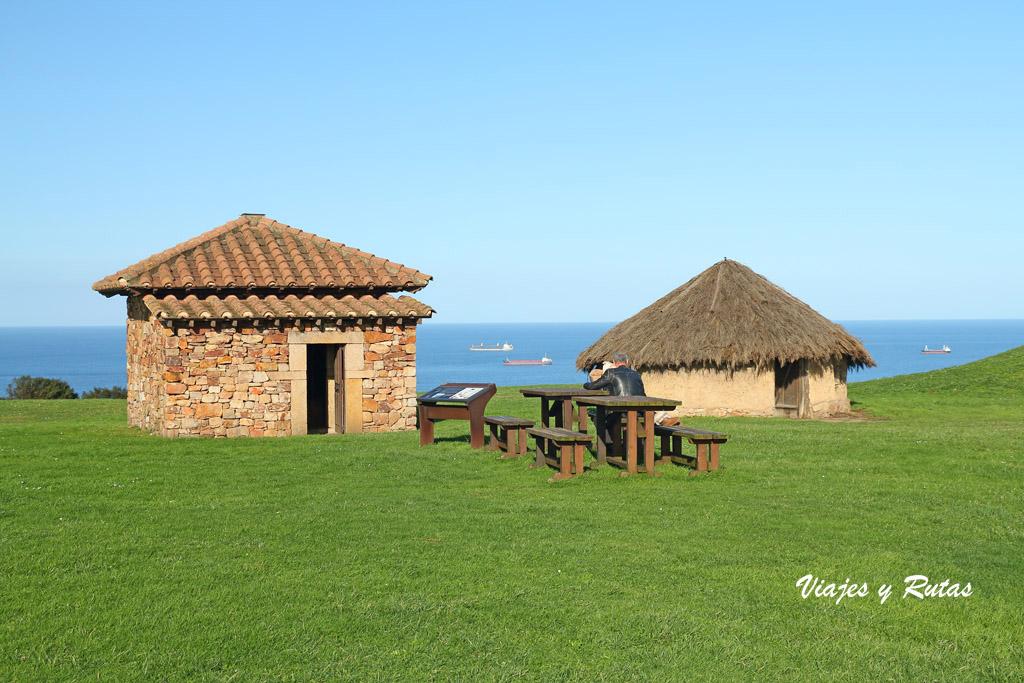 Casas del Parque arqueologico Campa Torres, Gijón
