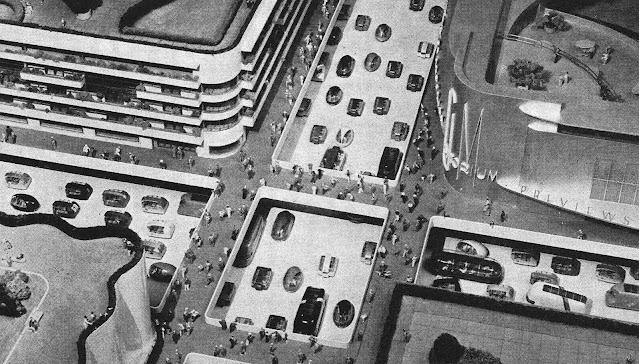 Futurama by Norman Bel Geddes at the 1939 World's Fair, retrofuture