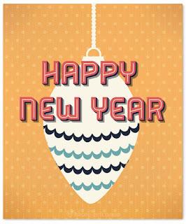 New Year Cards Handmade
