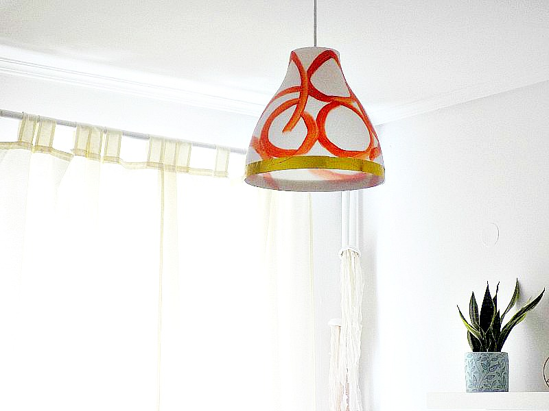 IKEA hack, ceiling light