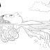 Desenho de Luca, filme da Disney Pixar para colorir