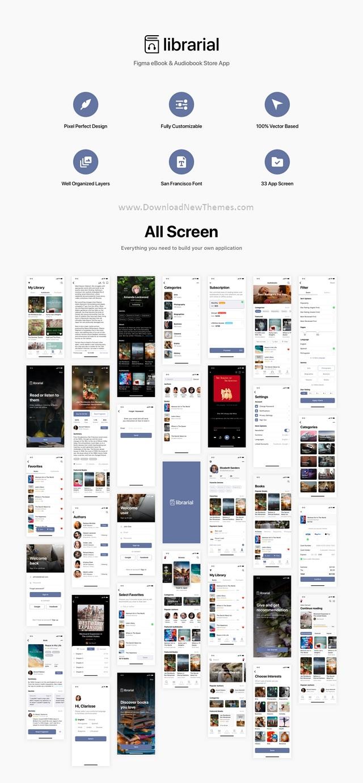 eBook & Audiobook Store App