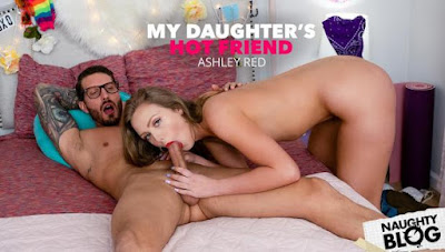 My Daughter's Hot Friend – Ashley Red gets wet and strips down for friend's dad (2020/FULLHD)