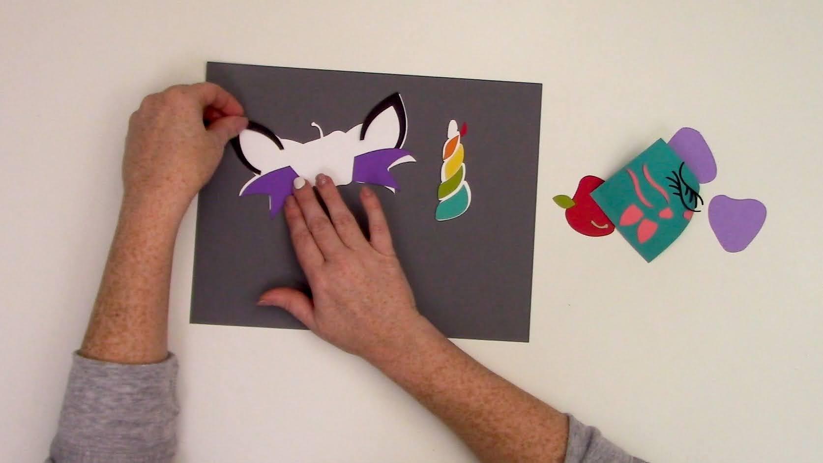 X cut silhouette trois étoiles multi hole punch ou Star fabrication carte trio Xcut