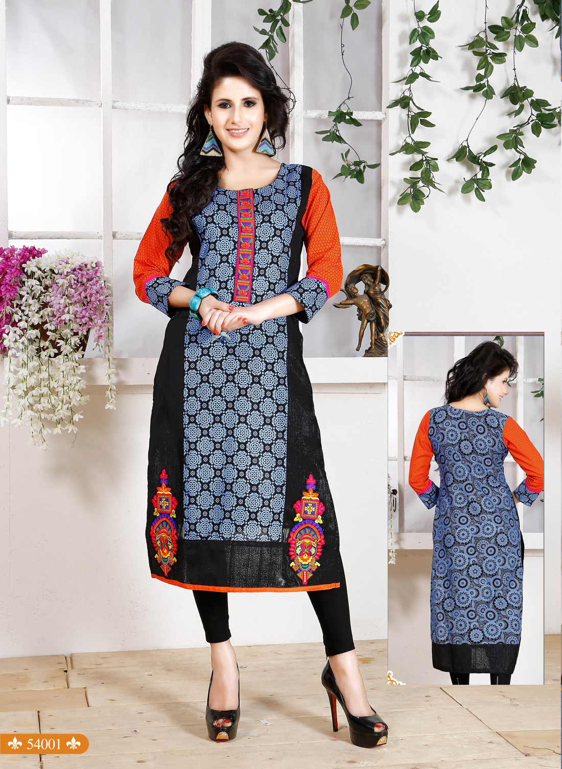 Nancy 54 – Causal Printed Fancy And Stylish Kurti