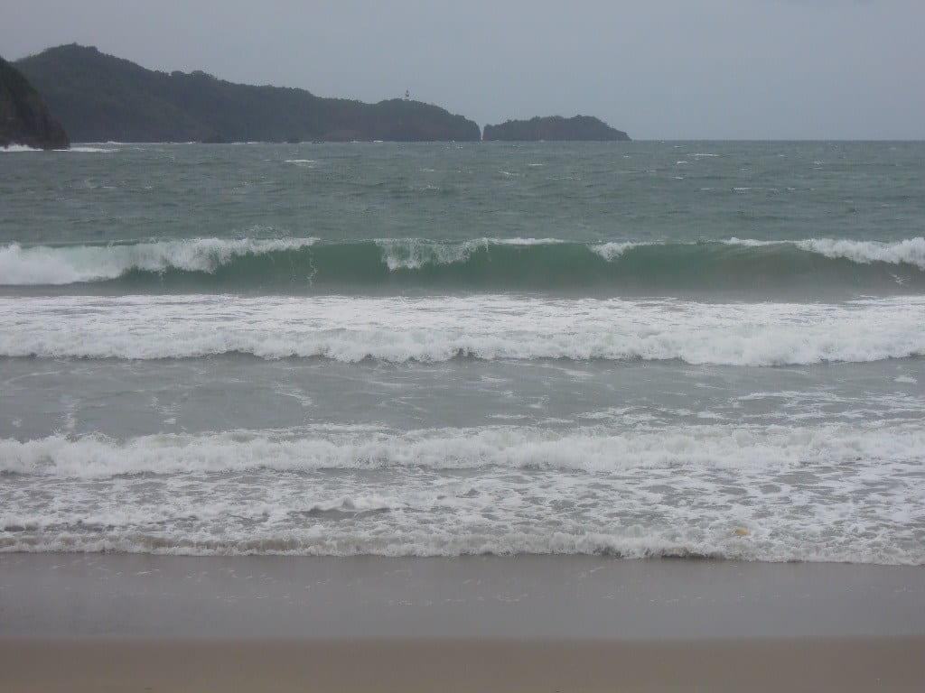 Big waves at Pico de Loro Beach & Country Club