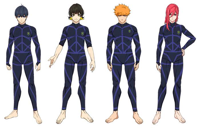 Blue Lock anime - personajes