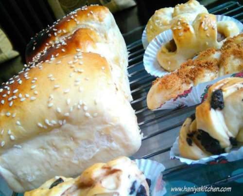 resep killer soft bread ala Victoria Bakes