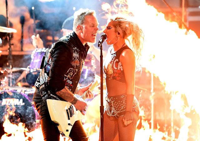 FOTOS HQ Lady Gaga y Metallica se presentan en los Grammy Awards 2017
