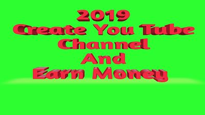 how to make a youtube channel