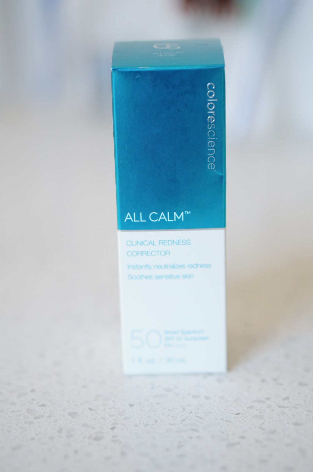 CRUELTY FREE BEAUTY | COLORESCIENCE ALL CALM REDNESS CORRECTOR by popular North Carolina beauty blogger Rebecca Lately