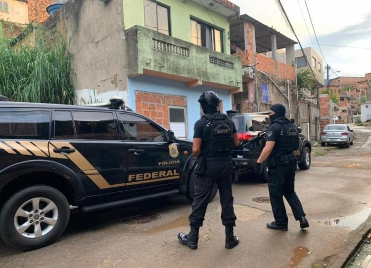 PF realiza operação na Bahia contra o tráfico internacional de drogas