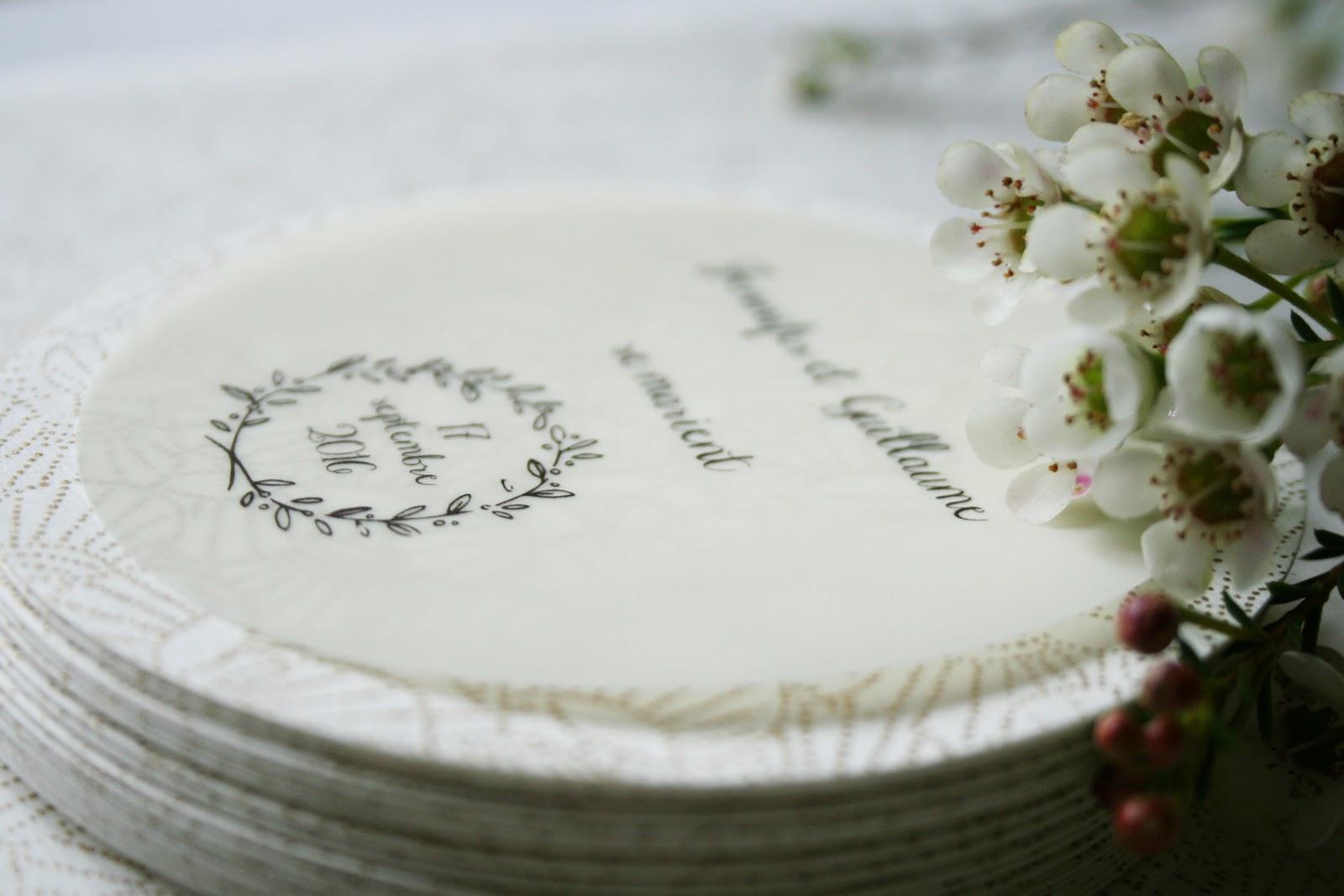Favori Fleur de pommier dans son atelier: Mariage chic et champêtre en or  NN61