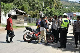 Polisi Gelar Razia di Expo Waena, 11 Unit SPM Terjaring, 3 Unit Hasil Curanmor
