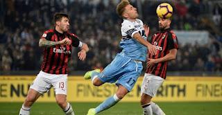 مشاهدة مباراة ميلان ولاتسيو  بث مباشر اليوم 04-07-2020 الدوري الايطالي