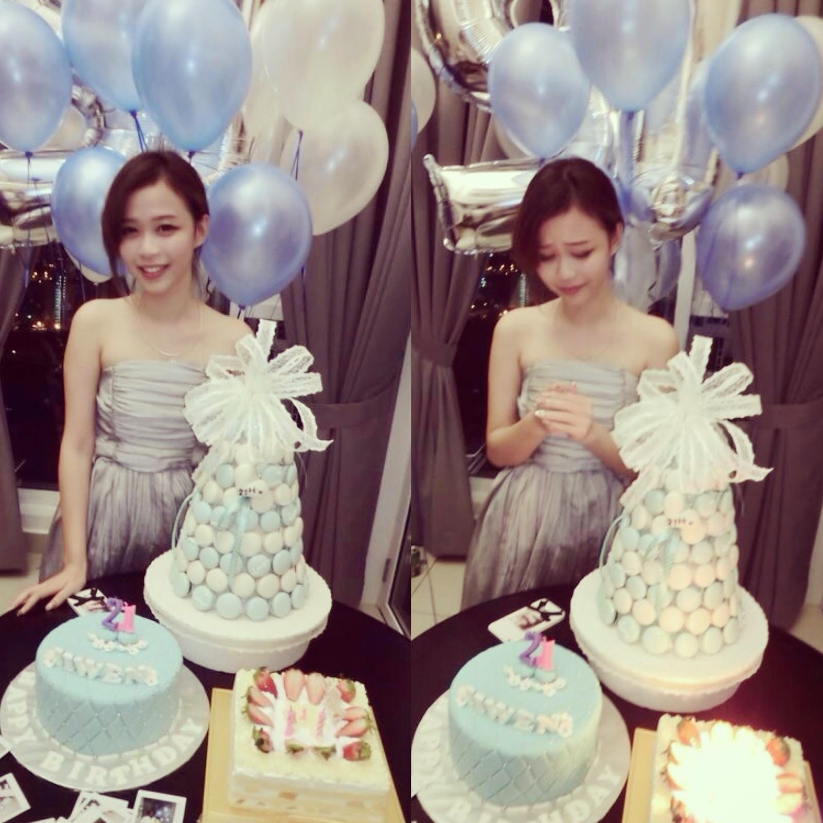 Iiwen Tan's Blog: My 21st Birthday Celebration