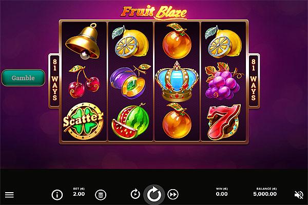 Main Gratis Slot Indonesia - Fruit Blaze NetEnt