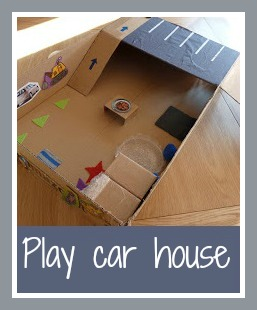 Play car house for children