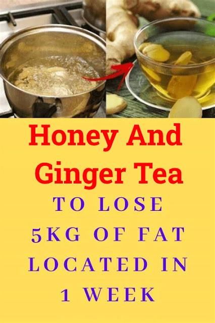Honey And Ginger Tea That Will Help You Burn Fat