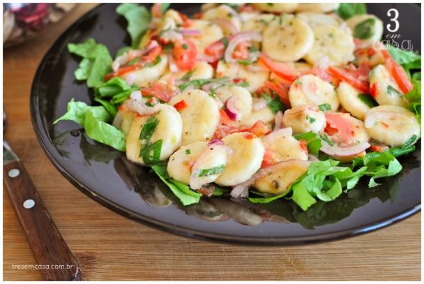 salada de banana salgada