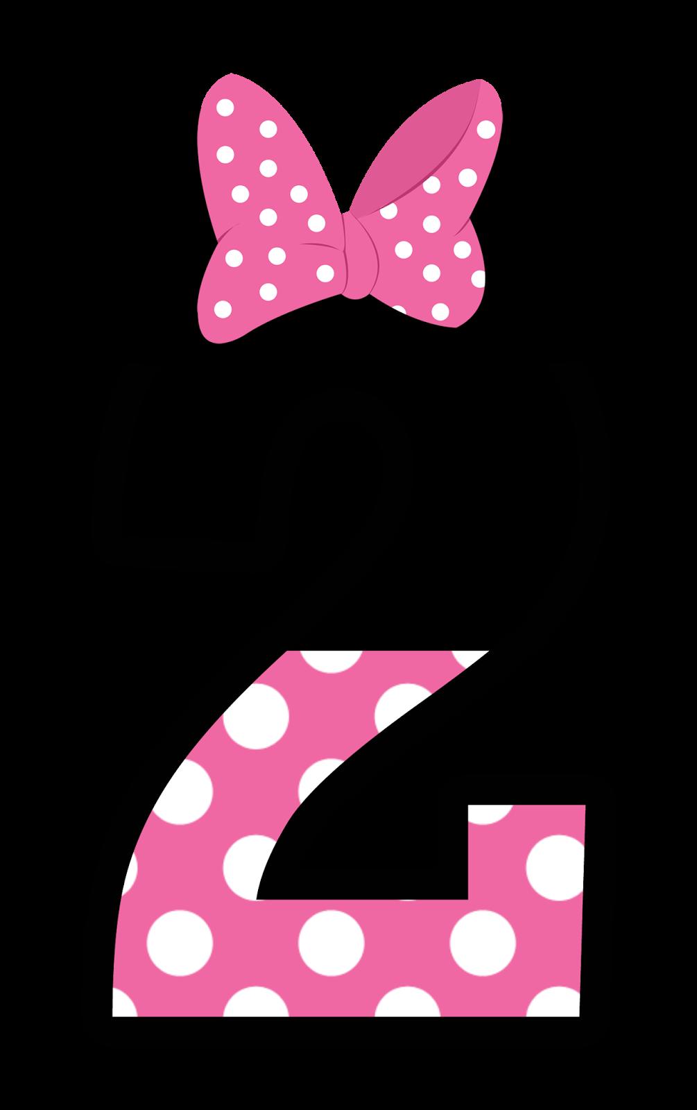 numeros estilo minnie en rosa oh my alfabetos. Black Bedroom Furniture Sets. Home Design Ideas