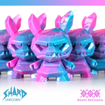 """Shard Unicorn Edition Dunny 3"""" Resin Figure by Scott Tolleson"""