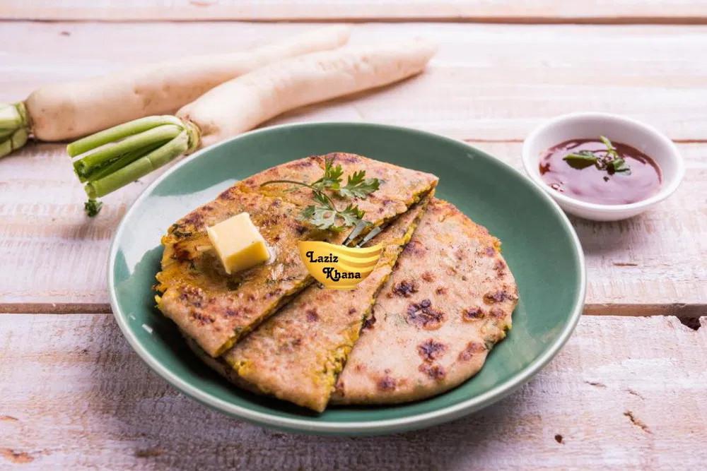 Mooli Paratha Recipe in Hindi