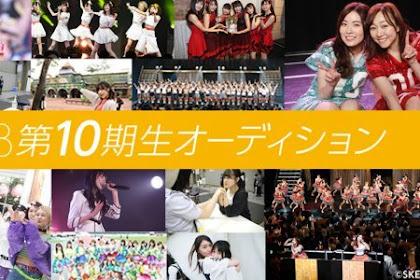 SKE48 Umumkan Hasil Vote Audisi Anggota Generasi 10