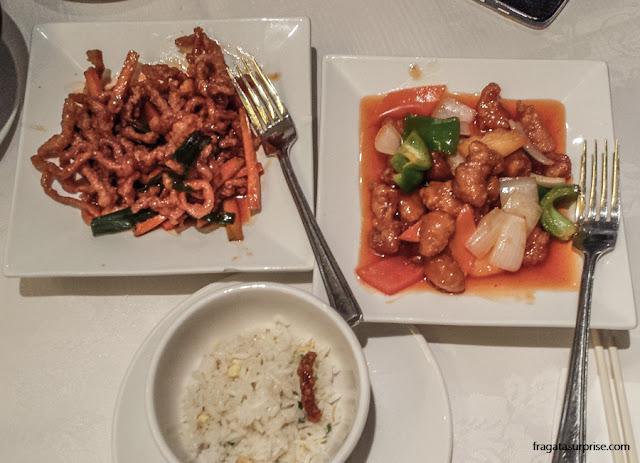 Londres - Restaurante Pepper Lime, em Chinatown