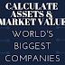 Calculate assets & market value