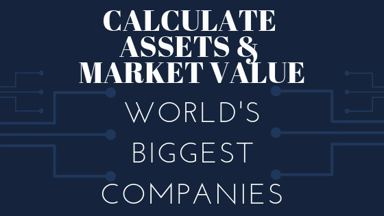 Calculate assets & market value