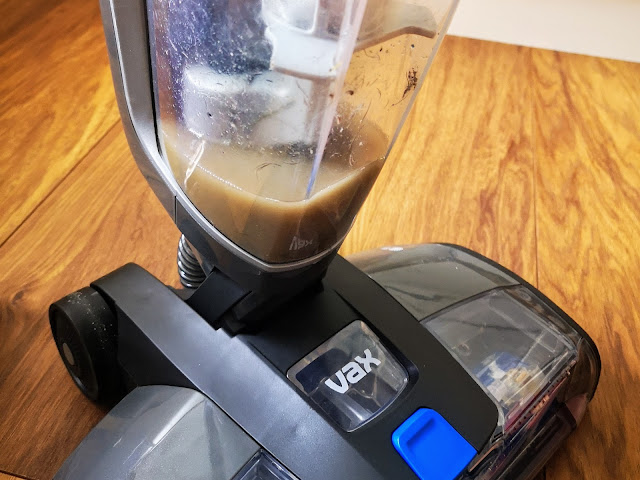 Image of the dirty water container on the VAX ONEPWR Hard Floor Cleaner