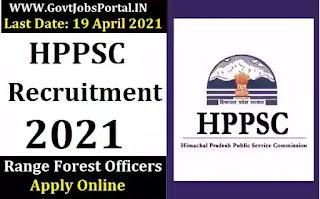 HPPSC Range Forest Officer Jobs 2021