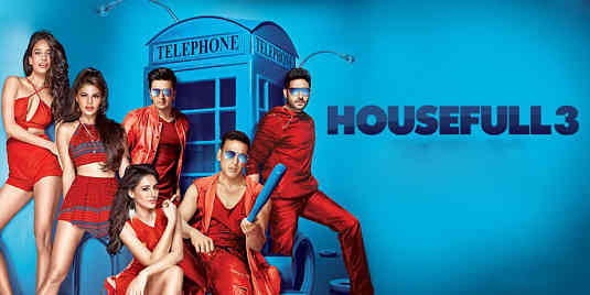 HOUSE FULL - 3 MOVIE REVIEW- STORY-RATING –TALK –LIVE UPDATES – AKSHAY KUMAR, ABHISHEK BACHCHAN, BOMAN IRANI  AND RITHESH DESH MUKH   LATEST MOVIE – JACQUELINE FERNANDEZ, NARGIS FAKHRI AND LISA HAYDON  COMBINATION –SAJID-FARAHAD'S  LATEST MOVIE