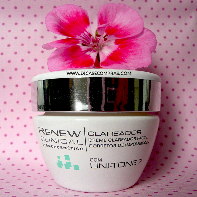 Renew Clinical Dermocosmético Creme Clareador Facial
