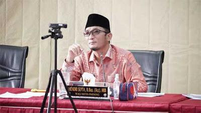 Begini Strategi Wako Hendri Septa Majukan Perumda AM Padang