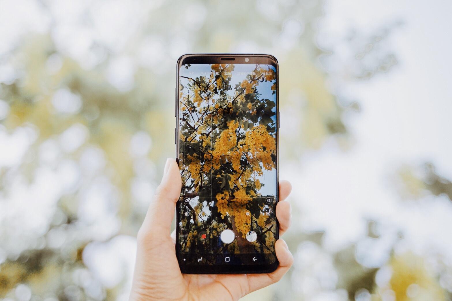 Samsung 2018 年約攝影師