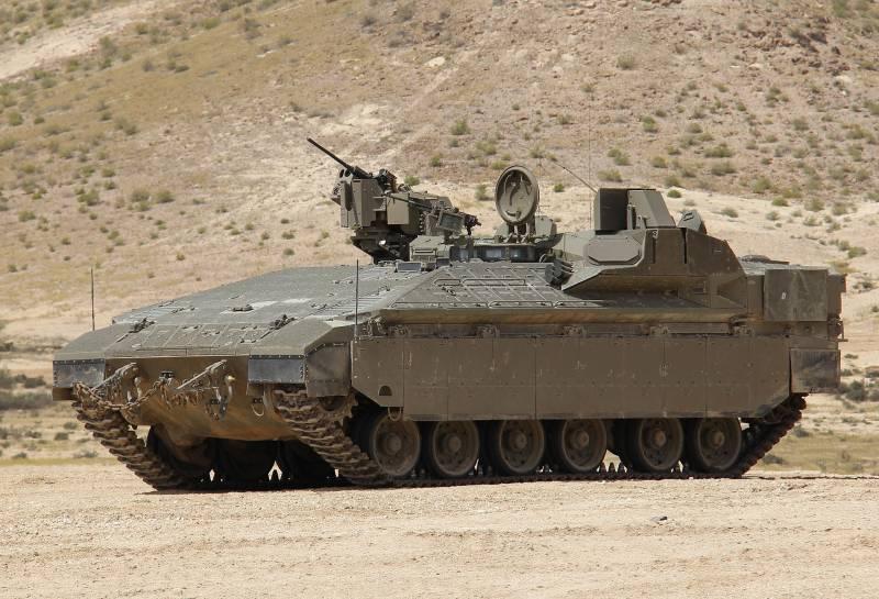 БТР Namer: найважчий бронетранспортер в світі