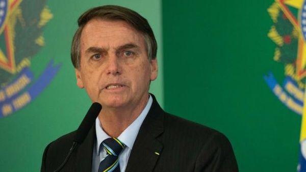 Bolsonaro rechaza donativo de Alemania para la Amazonía