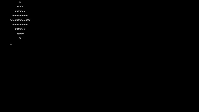 C program to print diamond pattern of numbers