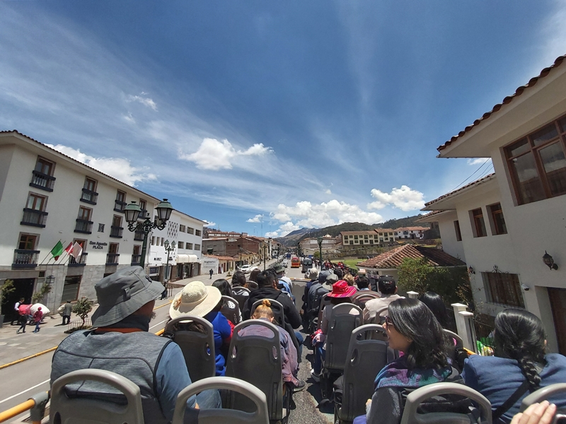 City Tour no ônibus Panorâmico de Cusco